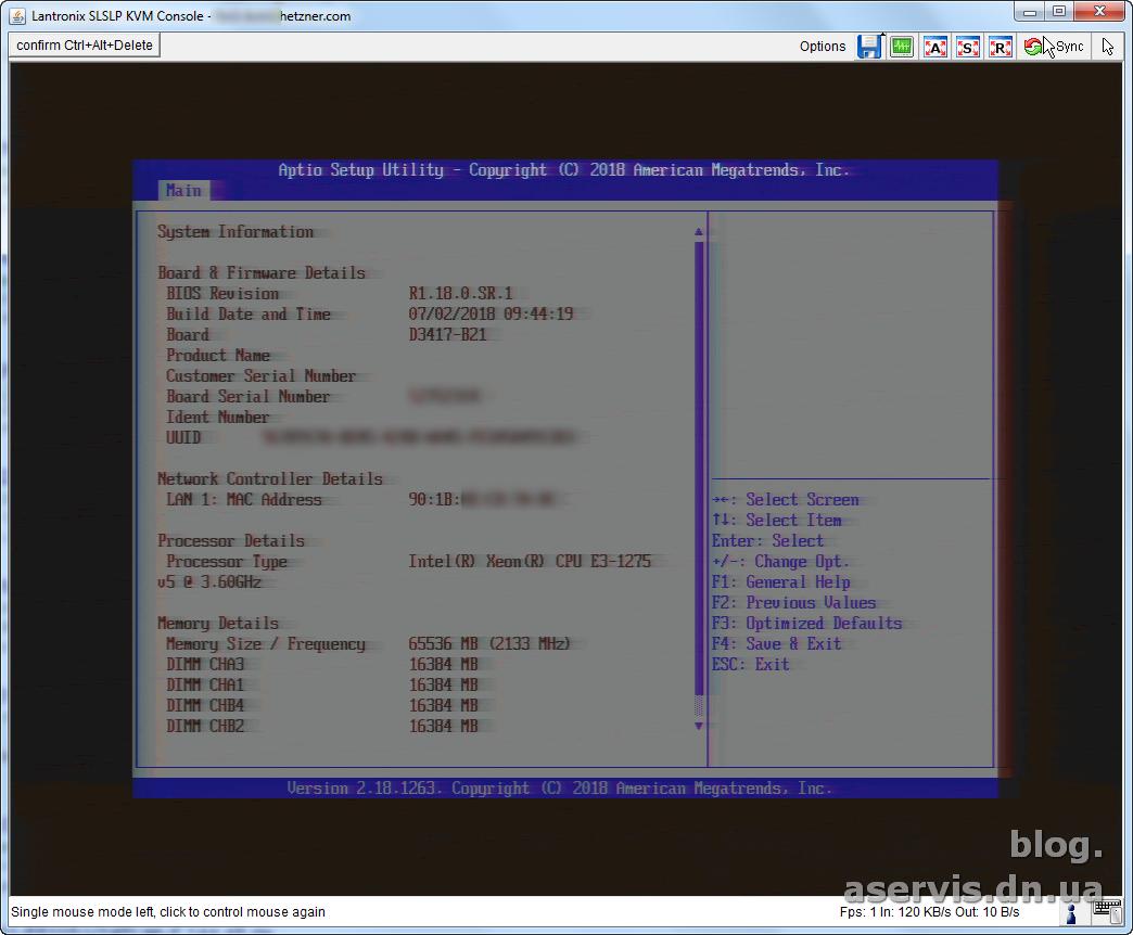Установка Windows Server 2016 на выделенный сервер Hetzner с
